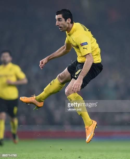 FUSSBALL CHAMPIONS LEAGUE SAISON 2014/2015 Vorrunde Arsenal London Borussia Dortmund Henrikh Mkhitaryan