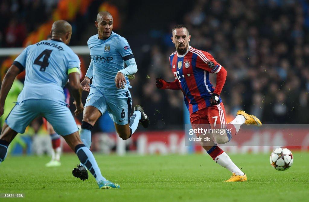 Fussball CHL  Saison 2014/2015: FC Bayern Muenchen - Manchester City : News Photo