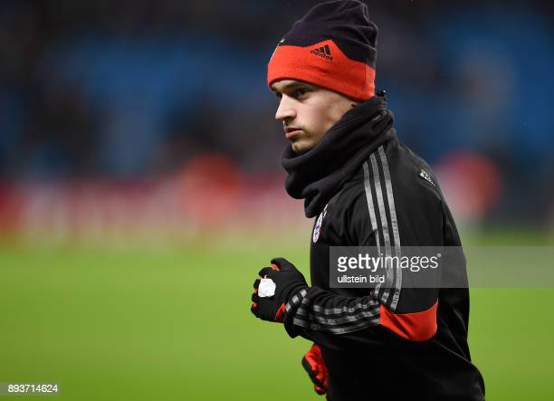 FUSSBALL CHAMPIONS LEAGUE SAISON 2014/2015 Vorrunde Manchester City FC Bayern Muenchen Xherdan Shaqiri