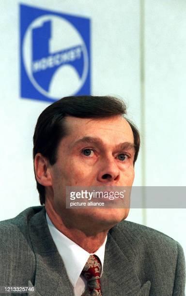 Vorstandsvorsitzender der Hoechst AG, aufgenommen am 31.1.96 in Frankfurt/Main.