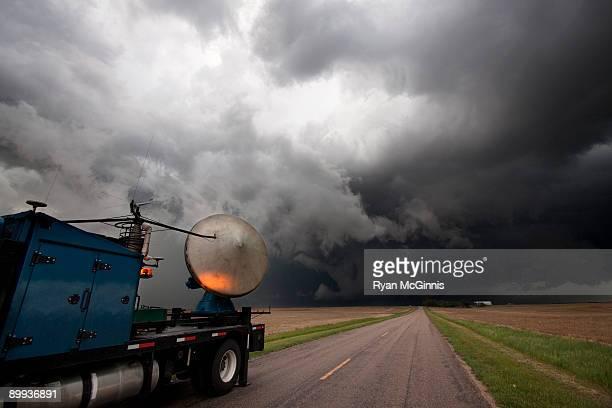 Vortex 2 Weather Research Radar