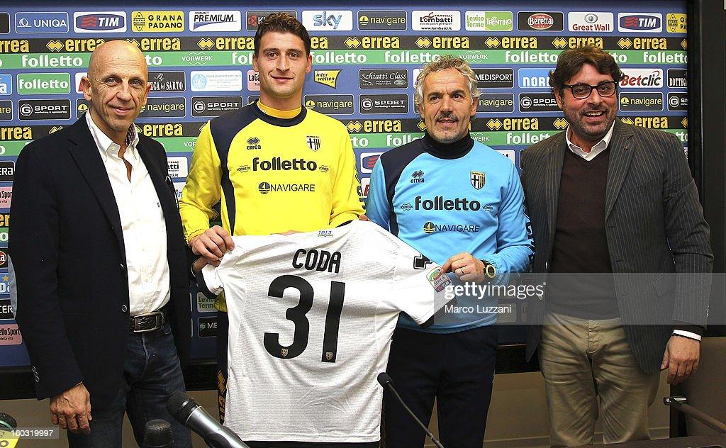 Parma FC Unveils New Signing Andrea Coda