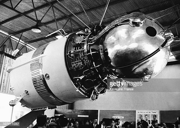 Vostok I The Space Shuttle Used By Yuri Gagarin