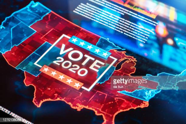 us vote 2020 - united states presidential election stock pictures, royalty-free photos & images