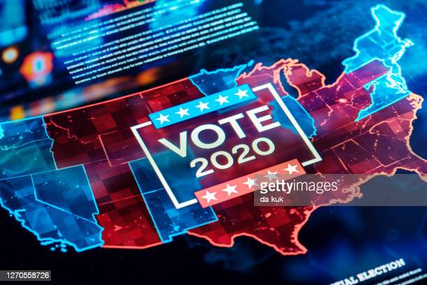 us vote 2020 - election stock pictures, royalty-free photos & images