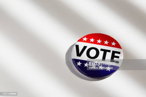 vote button on white background - voting stock pictures, royalty-free photos & images