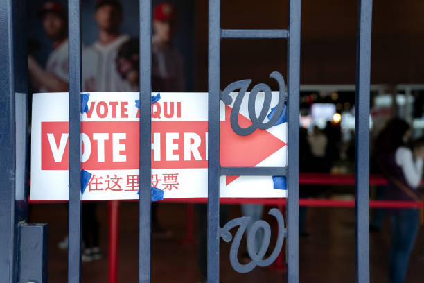DC: D.C. Residents Cast Ballots As Early Voting For U.S. Presidential Election Begins