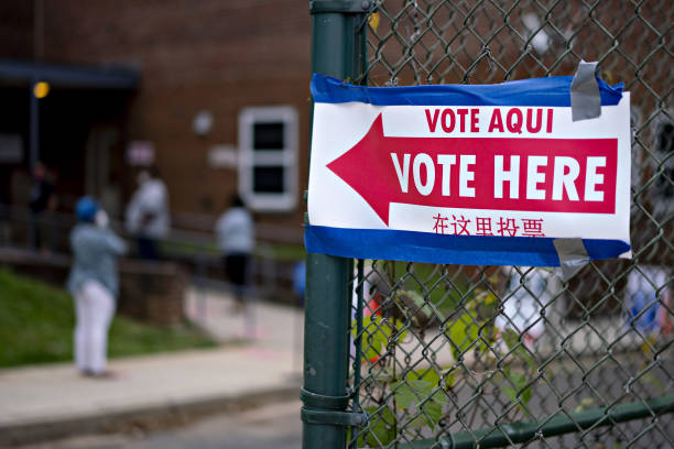 DC: Voters Cast Ballots In District Of Columbia Primary Election