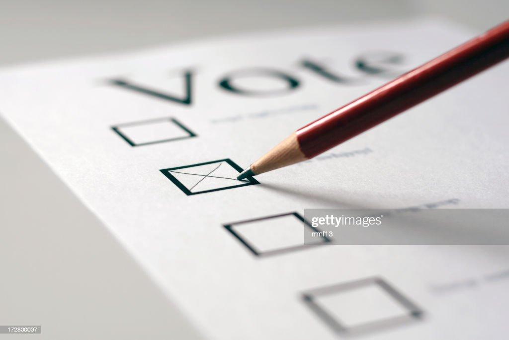 Vote : Stock Photo