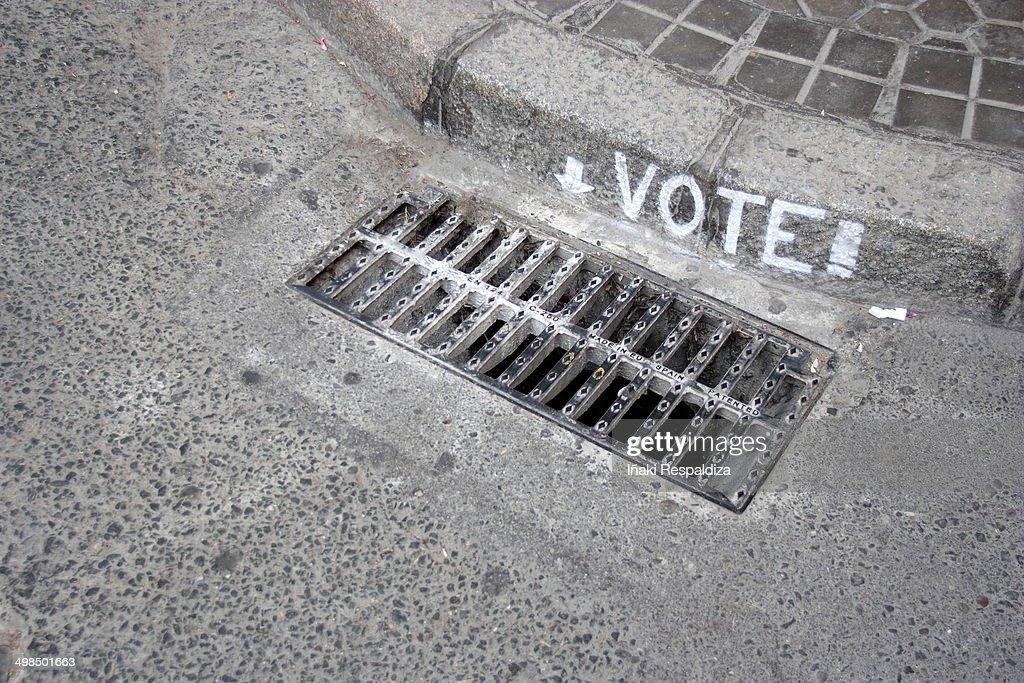 Vote! : Foto de stock