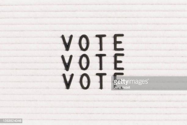 vote sign - voting stock pictures, royalty-free photos & images