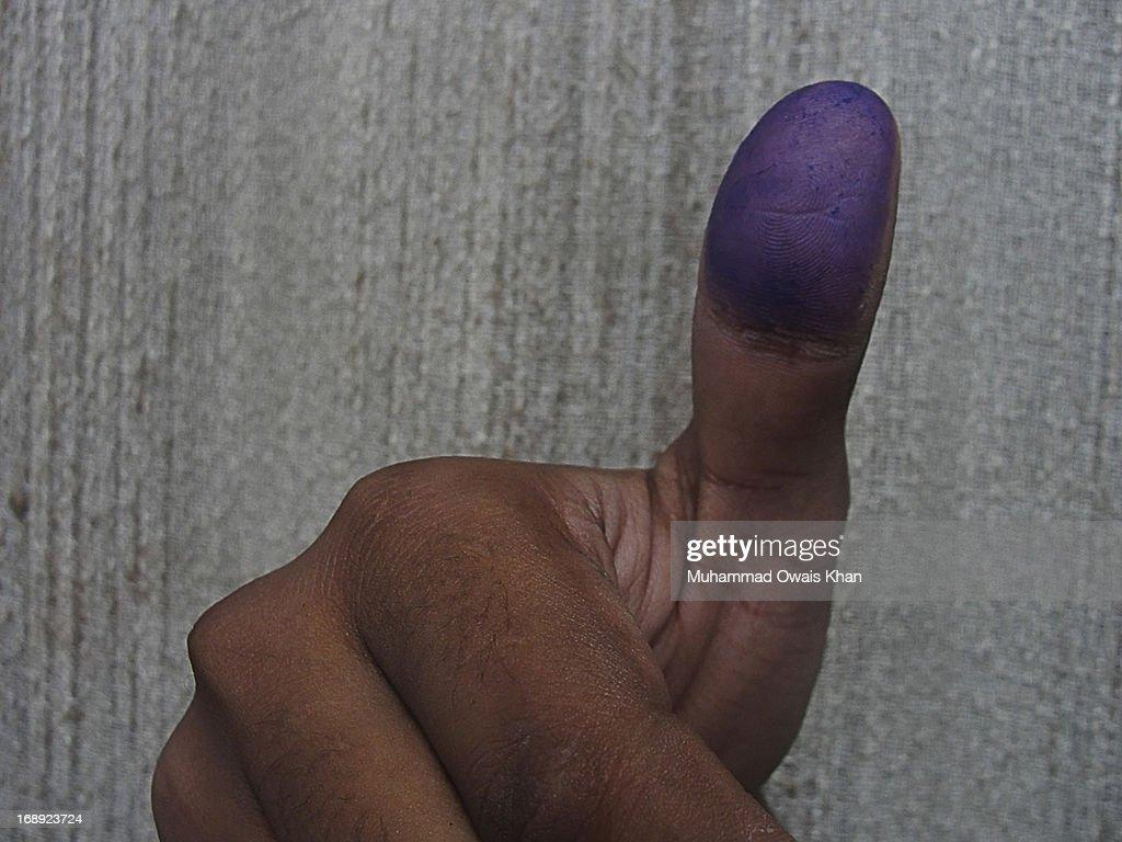 I Voted : Stock Photo