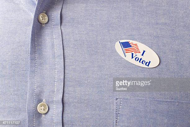 votei (xl - i voted sticker - fotografias e filmes do acervo