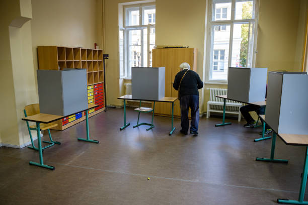 DEU: Voters Go To The Polls In Federal Elections