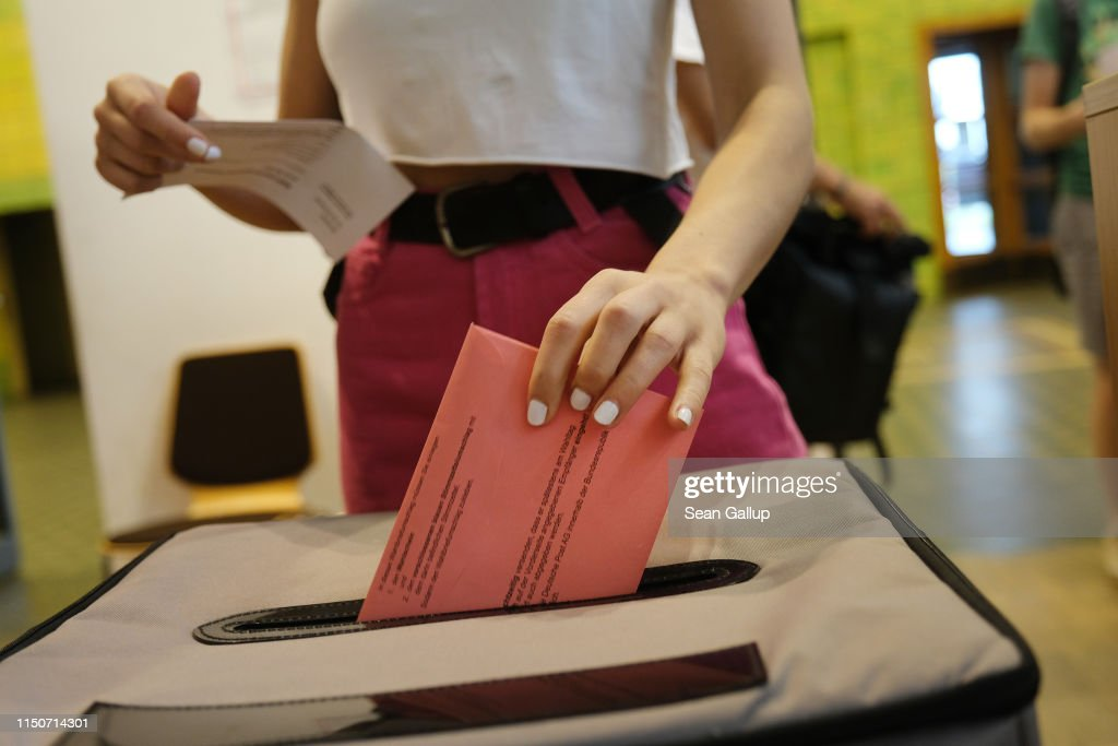 DEU: Early Voting Underway In European Elections