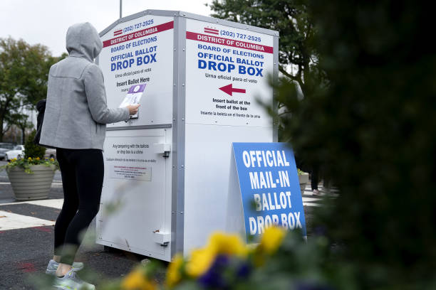 DC: Residents Cast Mail-In Ballots Ahead Of Presidential Election