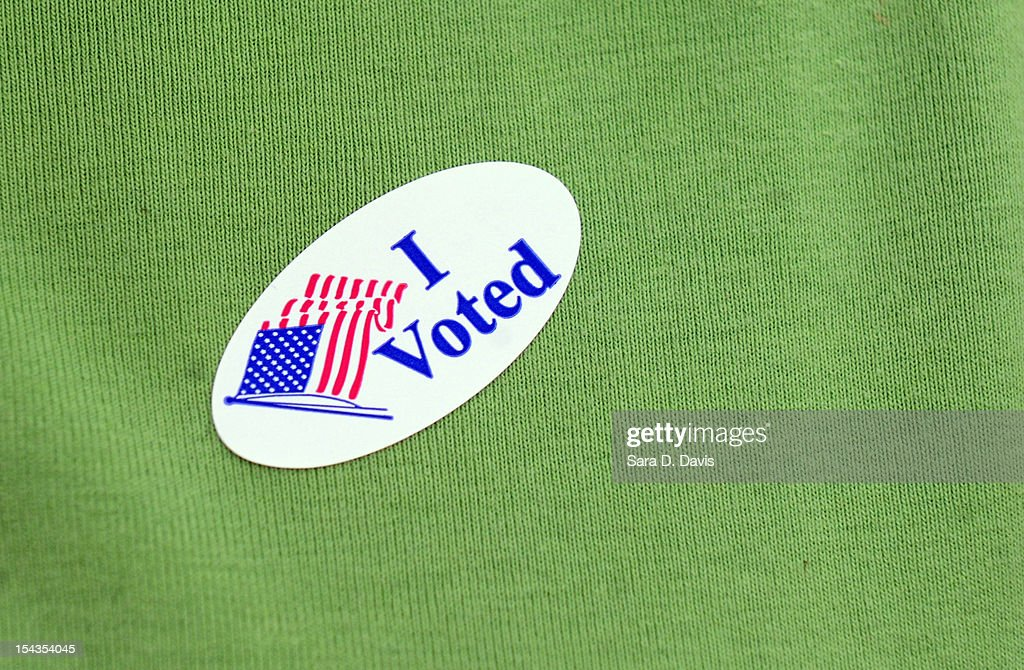 Early Voting Begins In North Carolina : News Photo
