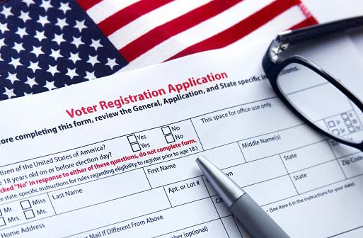 Voter Registration Application 584494226