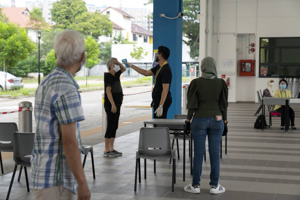 SGP: Singapore Goes To The Polls as City Grapples With Outbreak