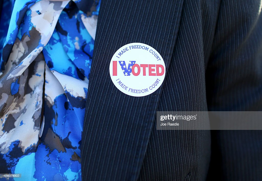 Midterms Elections Held Across The U.S. : News Photo
