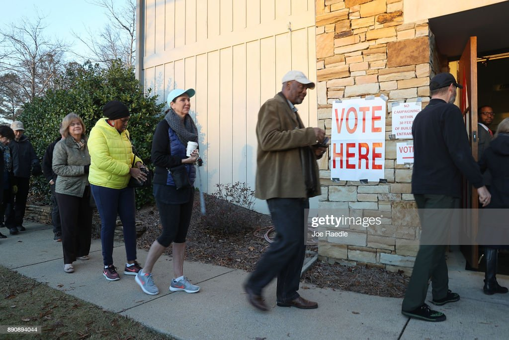Voters In Alabama Head To The Polls For State's Special Election To Fill Jeff Sessions Seat