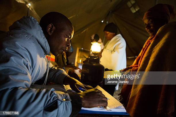 CONTENT] Voters in Harare queued from before dawn to take part in Zimbabwe's 2013 presidential election July 31st 2013 Many voted by lamplight inside...