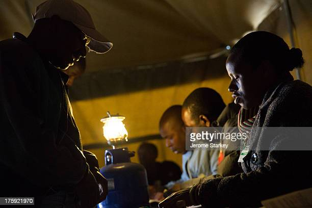 Voters in Mbare, in the outskirts of Harare, July 31st 2013. Some had queued from before dawn, to take part in Zimbabwe's 2013 presidential election,...