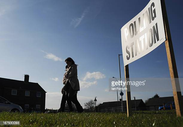 Voters in the North East head to the polls to vote in a local byelection on May 2 2013 in South Shields England The South Shields byelection was...