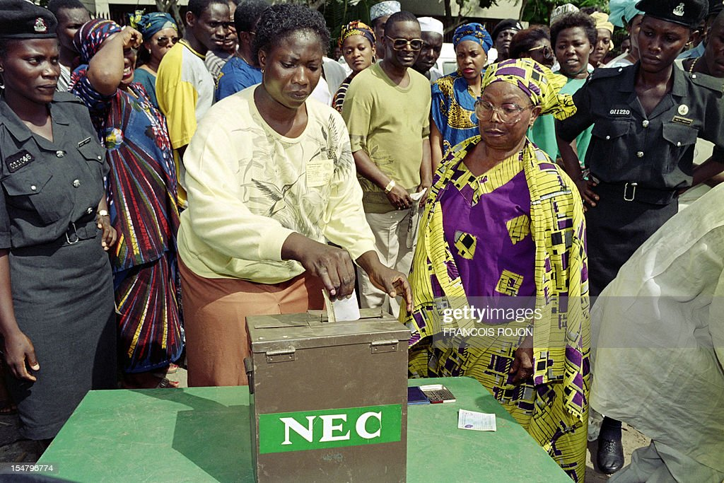 AFRICA-ELECTIONS-VOTE : News Photo