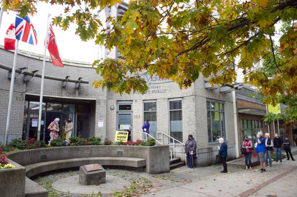 CAN: British Columbia Residents Vote In Canadian Federal Election