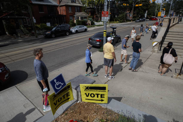CAN: Ontario Residents Vote In Canadian Federal Election
