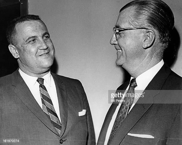 SEP 1962 SEP 12 1962 Voters Will Judge Them in November Denver Municipal Judge Sherman Fine silver left and Denver District court Judge Gerald E...