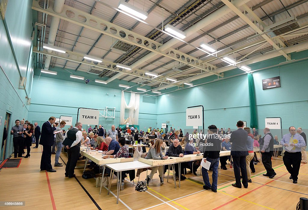 Count For Heywood And Middleton By-Elections : News Photo
