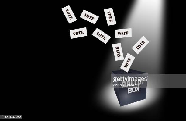 voting ballot box - election stock pictures, royalty-free photos & images