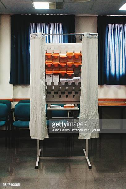 Voting Booth In Room