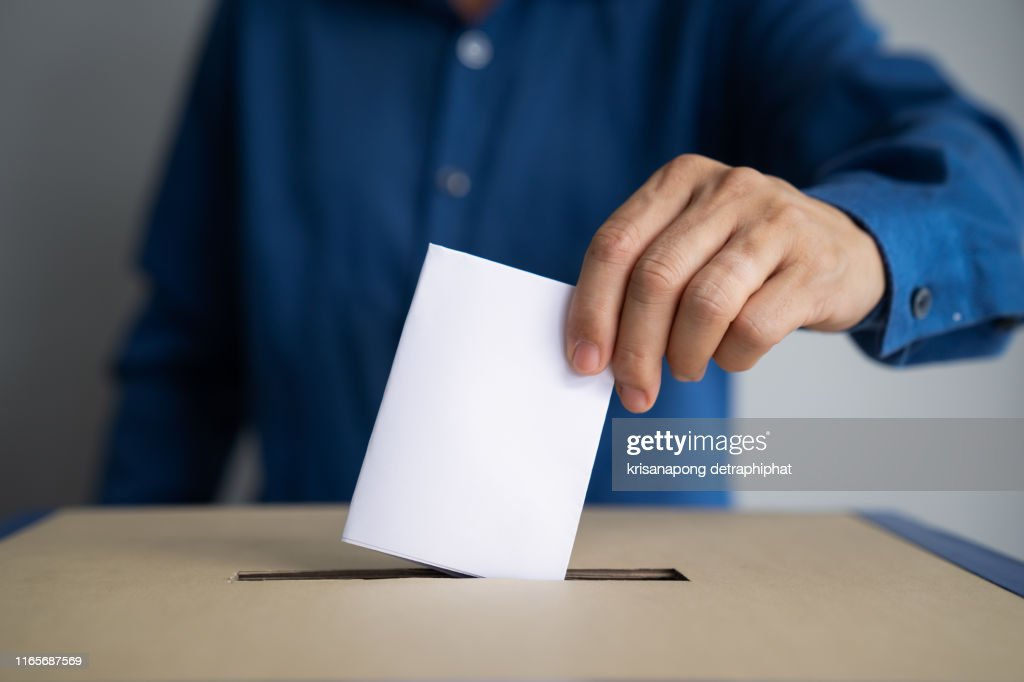 Voting box and election image,election : Stock Photo