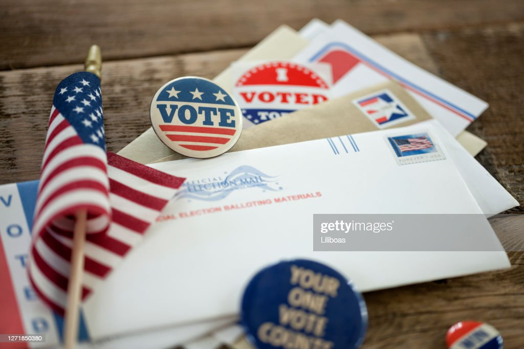 Voting By Mail Concept : Stock Photo