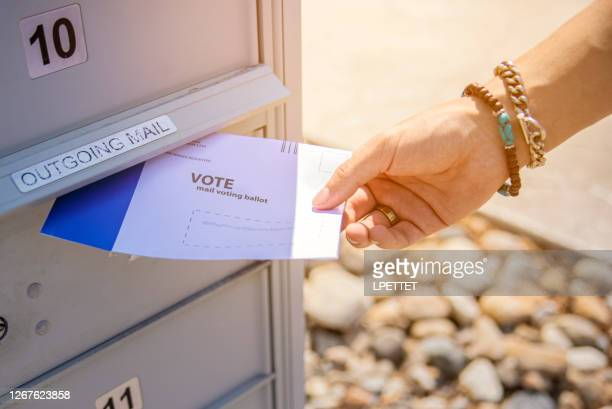 voting by mail - voting by mail stock pictures, royalty-free photos & images