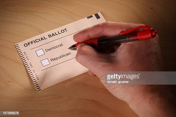Voting Democrat or Republican?