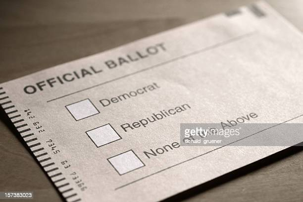 Voting in the 2-party System