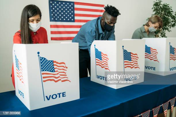 voting in the usa - american culture stock pictures, royalty-free photos & images