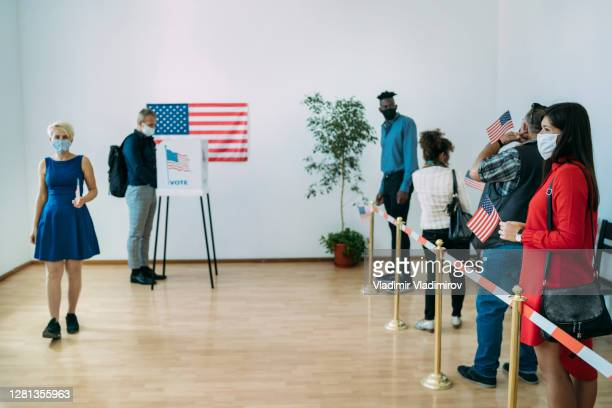 voting people at 2020 - presidential candidate stock pictures, royalty-free photos & images