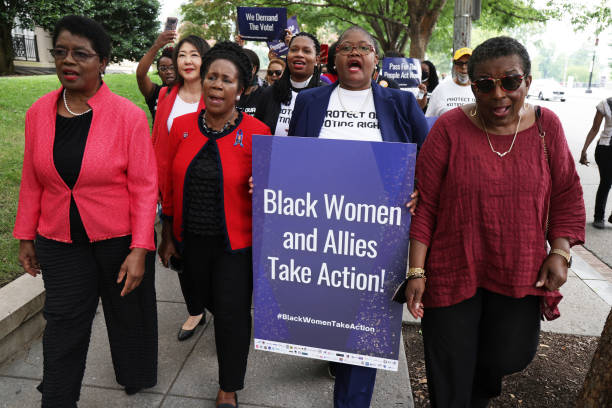 DC: Black Women Leaders And Allies Hold Voting Rights Call To Action On Capitol Hill