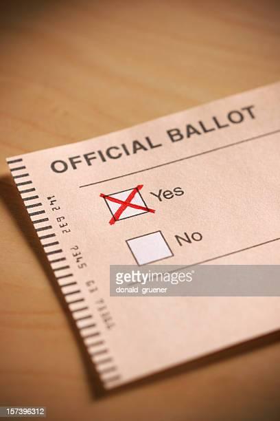 "Voter ""oui"""