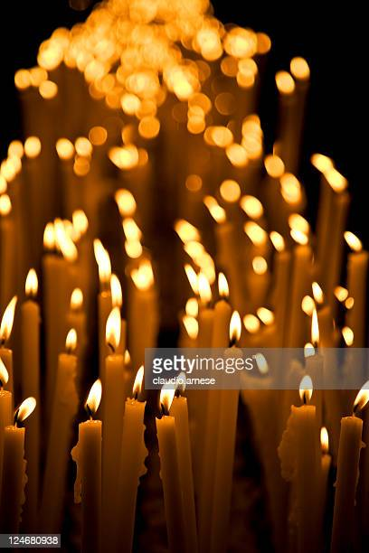 Votive Candles. Color Image