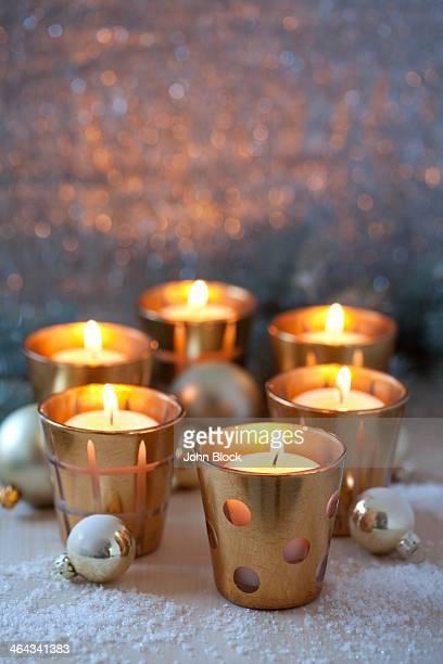 votive candles - cero foto e immagini stock