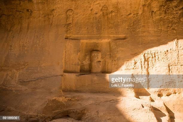 Votive niche in Petra