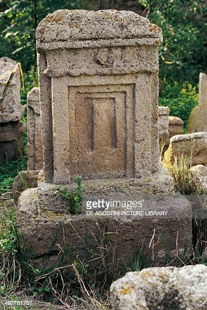 Votive stele PhoenicianPunic Tanit and Baal Hammon Tophet Archaeological Site of Carthage Tunisia