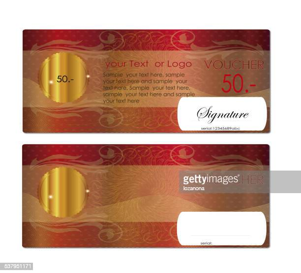 voucher / coupon , Gift certificate