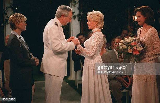 ELLEN 'Vows' Season Five 7/22/98 Ellen's thoughts drifted to marrying Laurie as she watched Harold and Lois renew their vows
